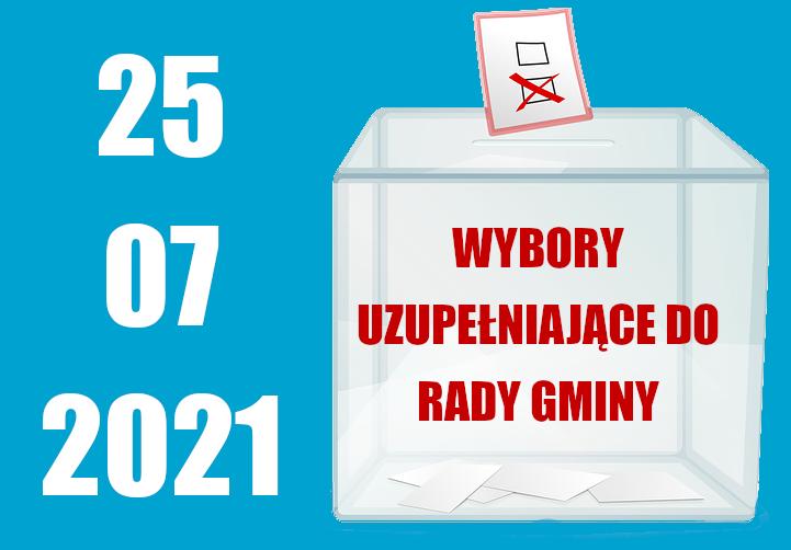 Wybory uzupełniające do Rady Gminy 2021